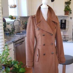 Super soft brown pea coat